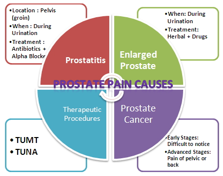 prostate pain causes