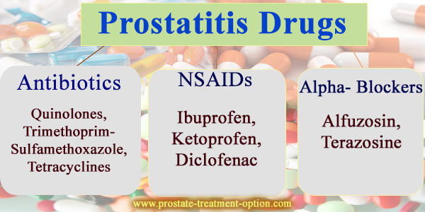 prostate drugs treatment