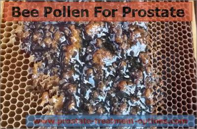 Bee Pollen benefits for prostate