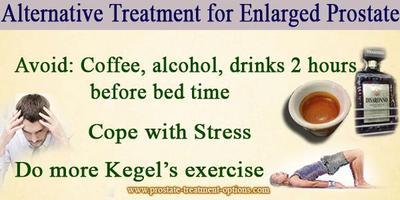 Prostate alternative treatments