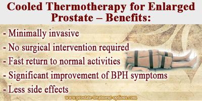 Cooled Thermotherapy for Enlarged Prostate – Benefits: