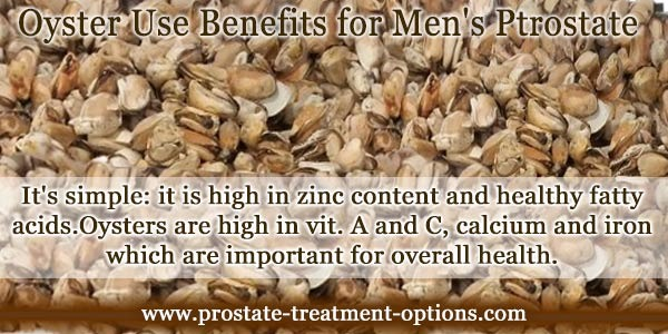 oyster for prostate